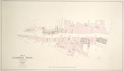 Plan of Cornhill ward surveyed October 1833